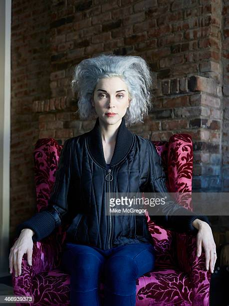 Singer/musician St Vincent is photographed for The Observer Newspaper on January 7 2014 in New York City PUBLISHED IMAGE