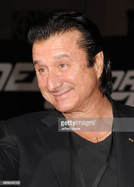 Singer/musician Steve Perry arrives at the Los Angeles premiere of 'Need For Speed' at TCL Chinese Theatre on March 6 2014 in Hollywood California
