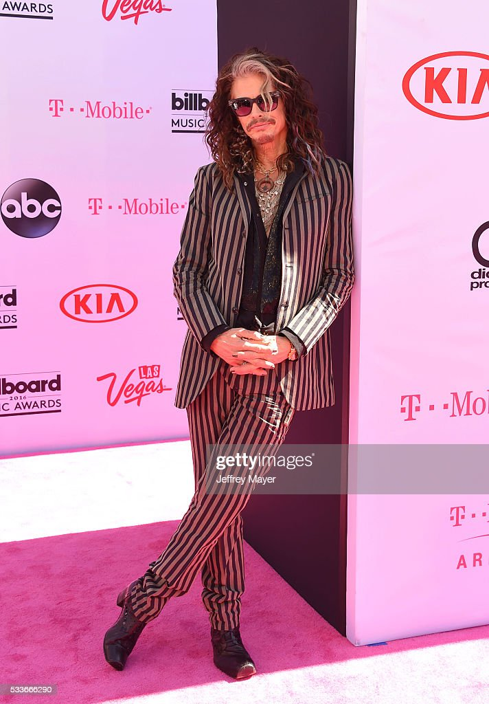 Singer-musician Steven Tyler attends the 2016 Billboard Music Awards at T-Mobile Arena on May 22, 2016 in Las Vegas, Nevada.