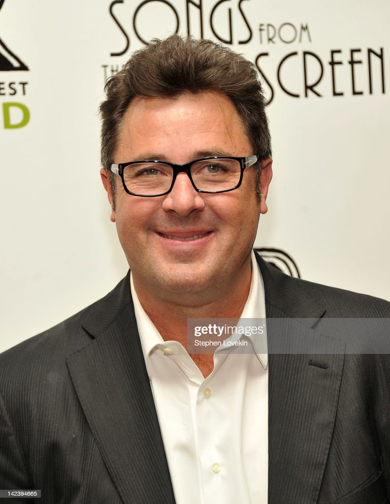 Singer/musician <a gi-track='captionPersonalityLinkClicked' href=/galleries/search?phrase=Vince+Gill&family=editorial&specificpeople=215309 ng-click='$event.stopPropagation()'>Vince Gill</a> attends the after party for the 2012 Concert for the Rainforest Fund at The Pierre Hotel on April 3, 2012 in New York City.