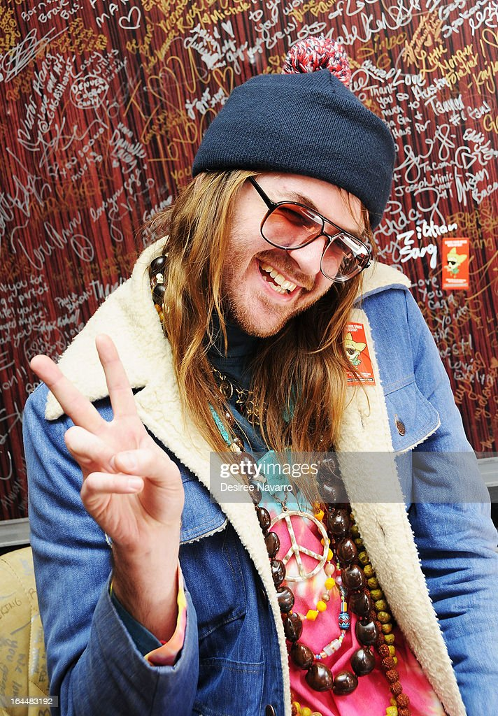 Singer/performance artist Breedlove attends Lady Gaga's Born Brave Bus Tour at Times Square on March 23, 2013 in New York City.