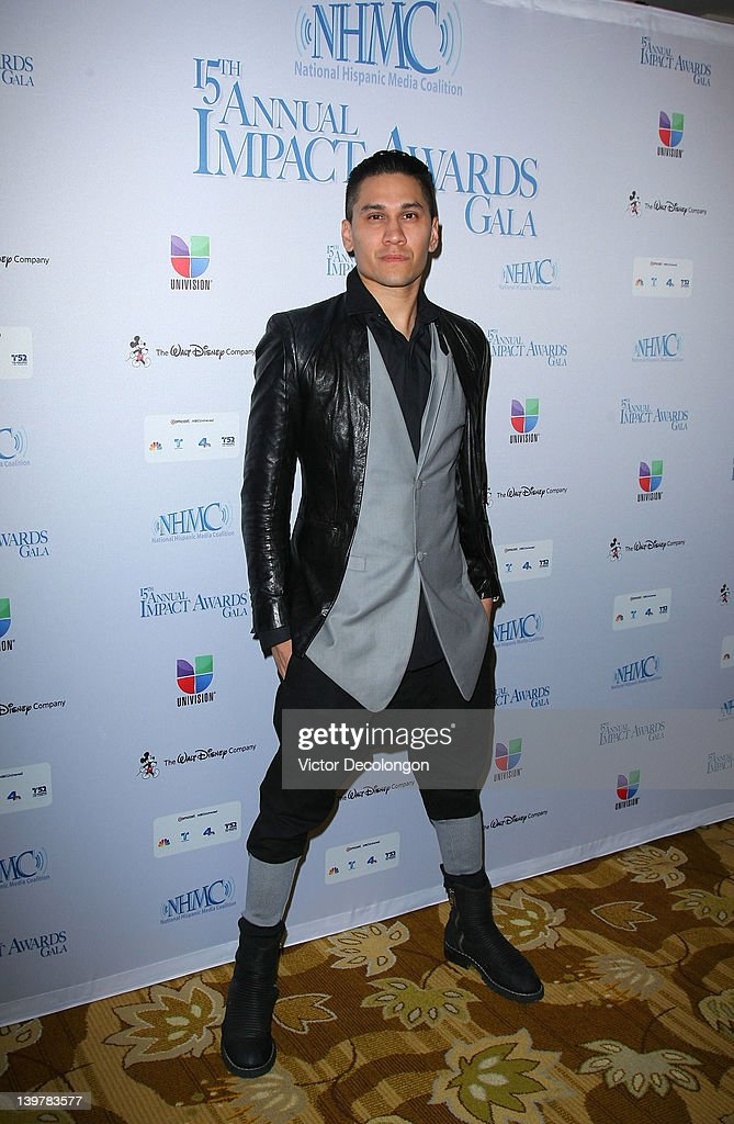Singer/performer Jaime 'Taboo' Gomez arrives for The National Hispanic Media Coalition's 15th Annual Impact Awards - Arrivals at the Beverly Wilshire Four Seasons Hotel on February 24, 2012 in Beverly Hills, California.