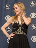 Singer/performer Madonna pose during the 48th Grammy Awards in Los Angeles CA 08 February 2006