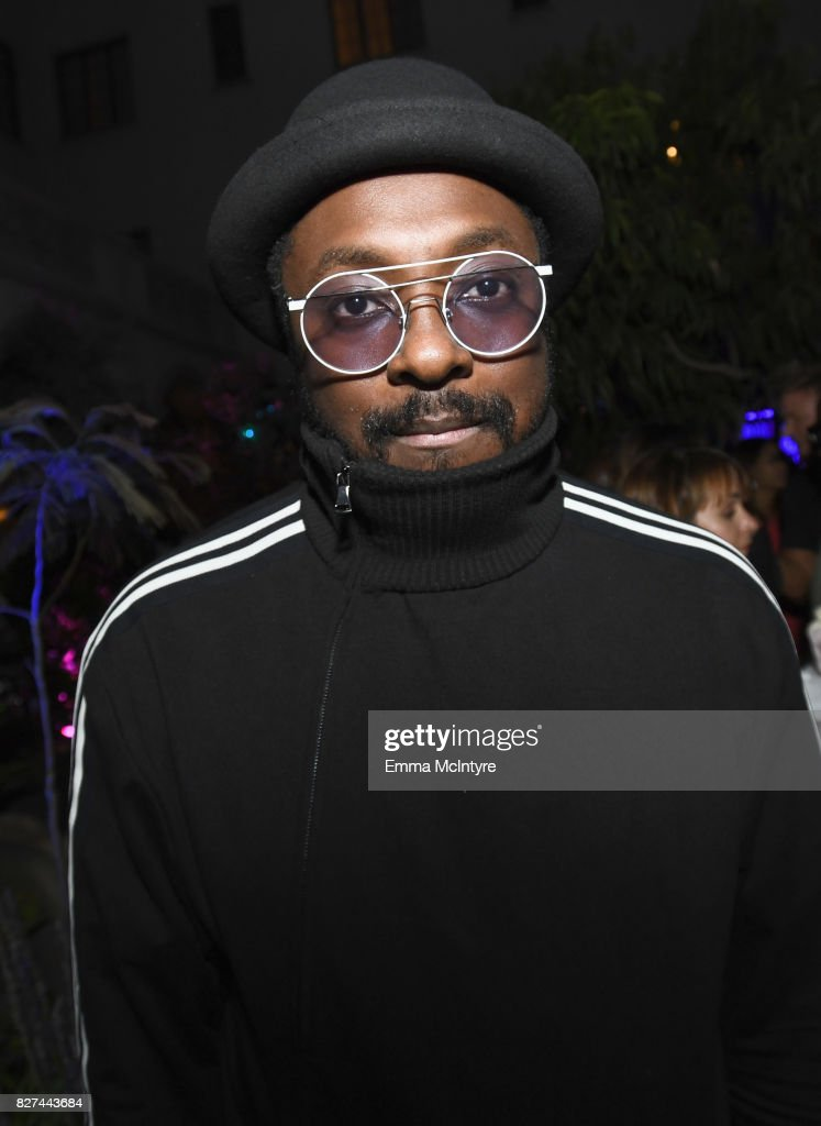 Singer/producer will.i.am at Apple Music Launch Party Carpool Karaoke: The Series with James Corden on August 7, 2017 in West Hollywood, California.