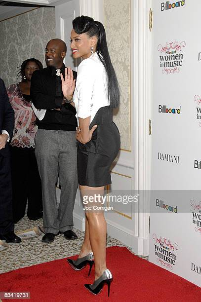 Singer/producer/model Ciara attends the 3rd Annual Billboard Women in Music Breakfast at the St Regis Hotel on October 24 2008 in New York City