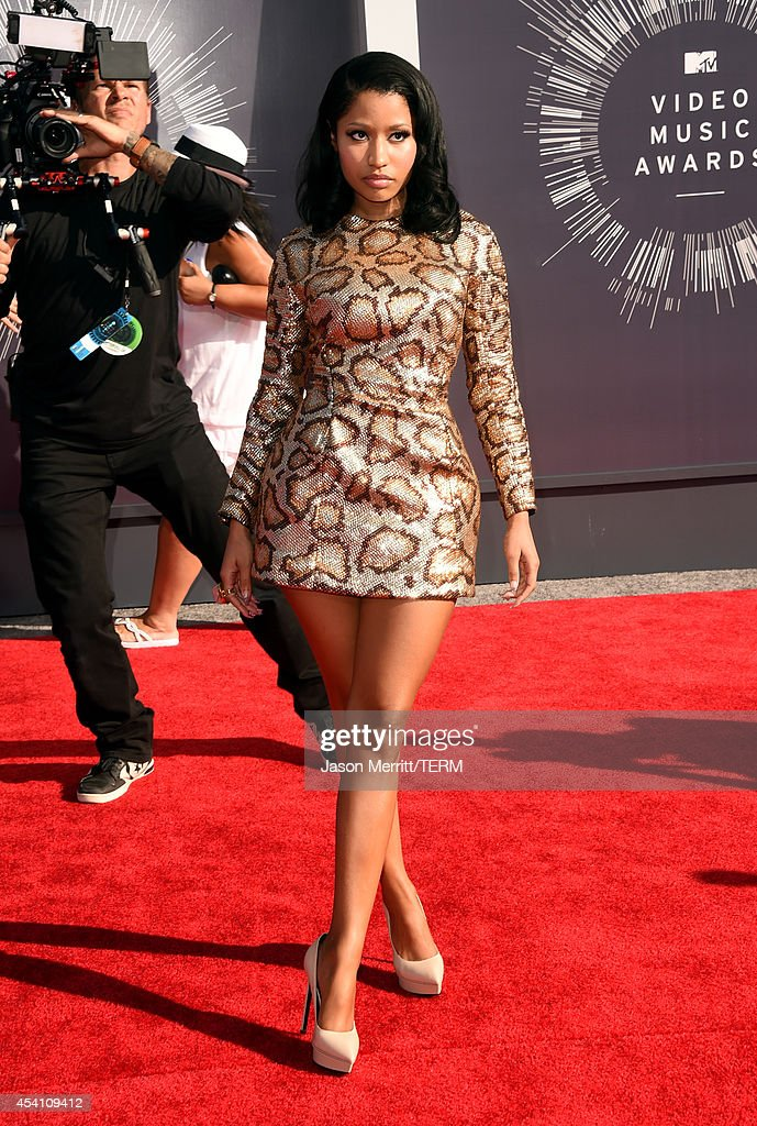 Singer/rapper Nicki Minaj attends the 2014 MTV Video Music Awards at The Forum on August 24 2014 in Inglewood California