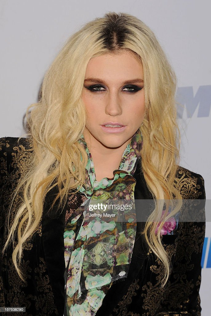 Singer/recording Artist Ke$ha attends the KIIS FM's Jingle Ball 2012 held at Nokia Theatre LA Live on December 3, 2012 in Los Angeles, California.