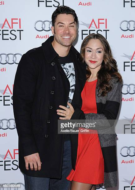 Singers Ace Young and Diana DeGarmo attend the screening of 'Lone Survivor' at AFI FEST 2013 at the TCL Chinese Theatre on November 12 2013 in...