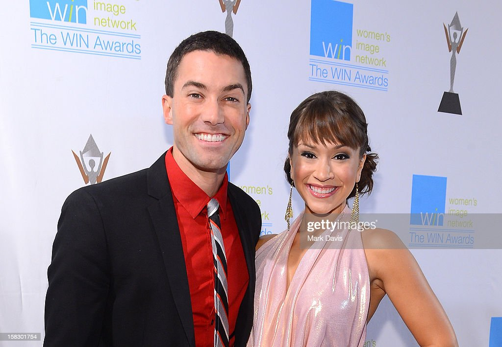 Singers <a gi-track='captionPersonalityLinkClicked' href=/galleries/search?phrase=Ace+Young&family=editorial&specificpeople=540262 ng-click='$event.stopPropagation()'>Ace Young</a> (L) and Diane DeGarmo attend the 14th Annual Women's Image Network Awards at Paramount Theater on the Paramount Studios lot on December 12, 2012 in Hollywood, California.