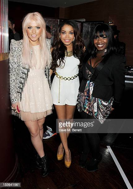 Singers Amelia Lily Dionne Bromfield and Misha B attend 'Film InStyle' in association with Land Rover celebrating InStyle Magazine's 10th Anniversary...