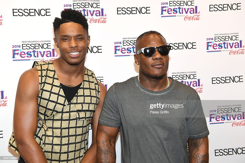 Singers Avery Wilson and <a gi-track='captionPersonalityLinkClicked' href=/galleries/search?phrase=Sean+Garrett&family=editorial&specificpeople=742653 ng-click='$event.stopPropagation()'>Sean Garrett</a> attend the 2016 ESSENCE Festival Presented By Coca-Cola at Ernest N. Morial Convention Center on July 1, 2016 in New Orleans, Louisiana.