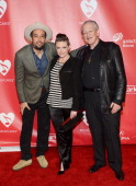 Singers Ben Harper Natalie Maines and Charlie Musselwhite arrive at he 2013 MusiCares Person Of The Year Gala Honoring Bruce Springsteen at Los...