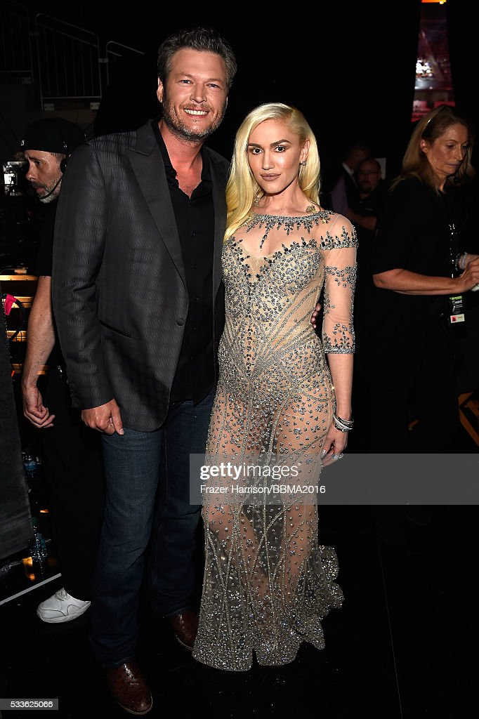 singers-blake-shelton-and-gwen-stefani-attend-the-2016-billboard-at-picture-id533625066