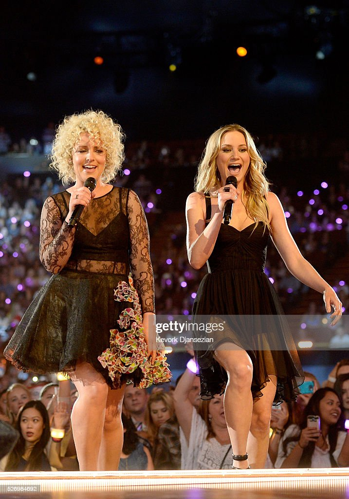 Singers Cam (L) and Kelsea Ballerini perform onstage during the 2016 American Country Countdown Awards at The Forum on May 1, 2016 in Inglewood, California.