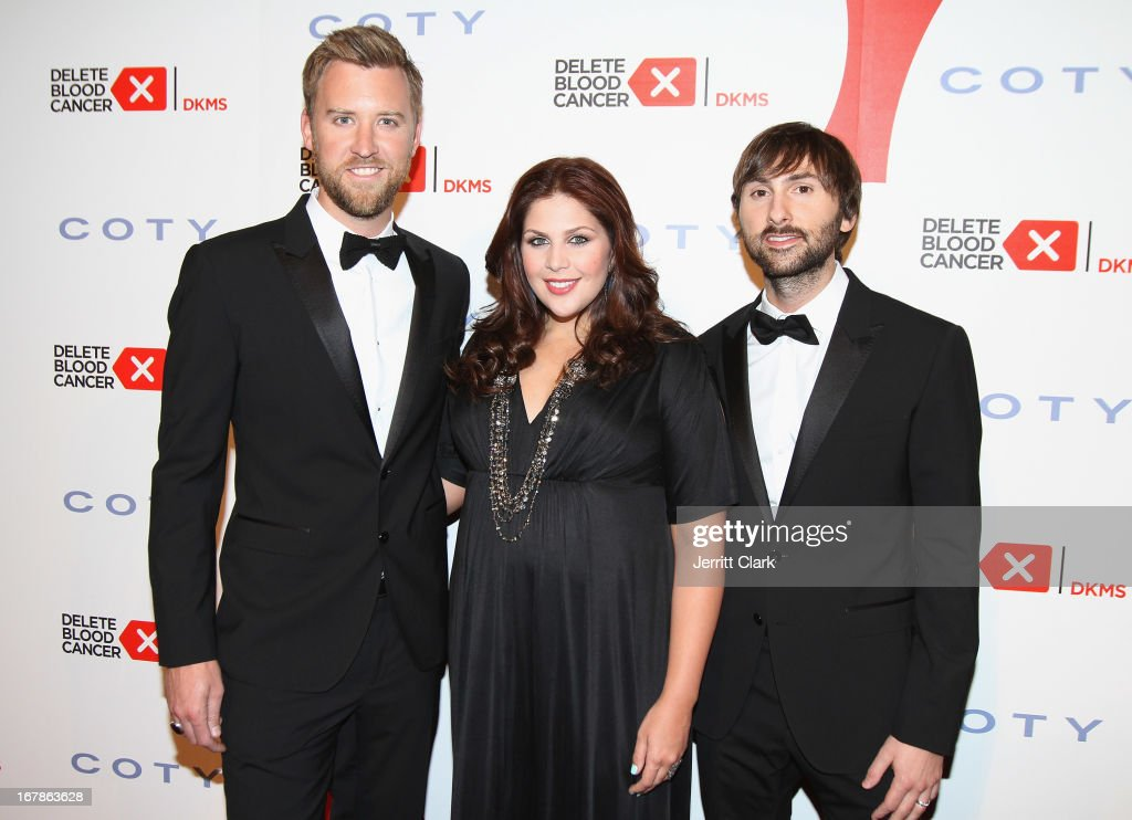 Singers Charles Kelley, Hillary Scott and Dave Haywood of Lady Antebellum attend the 2013 Delete Blood Cancer Gala at Cipriani Wall Street on May 1, 2013 in New York City.