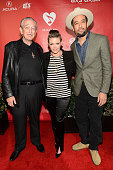 Singers Charlie Musselwhite Natalie Maines and Ben Harper arrive at MusiCares Person Of The Year Honoring Bruce Springsteen at Los Angeles Convention...