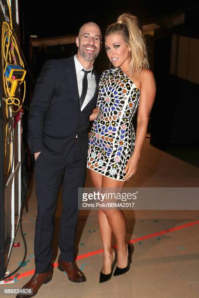 Singers Chris Daughtry and Rachel Platten attend the 2017 Billboard Music Awards at TMobile Arena on May 21 2017 in Las Vegas Nevada