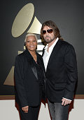 Singers Dionne Warwick and Billy Ray Cyrus attend the 56th GRAMMY Awards at Staples Center on January 26 2014 in Los Angeles California