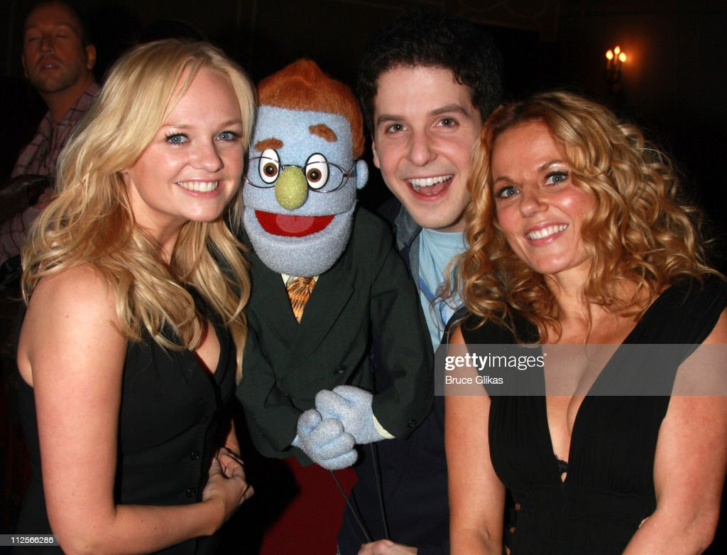 Celebrities Visit Broadway - February 8, 2008