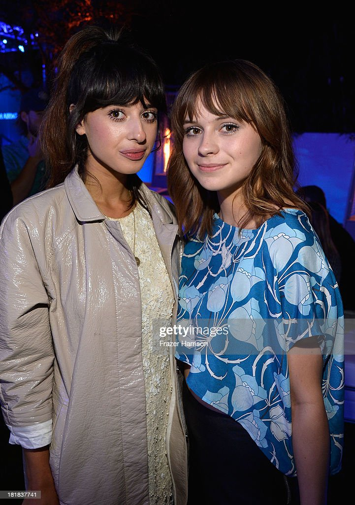 Singers Foxes and Gabrielle Aplin attend British Airways and Variety Celebrate The Inaugural A380 Service Direct from Los Angeles to London and Discover Variety's 10 Brits to Watch on September 25, 2013 in Los Angeles, California.