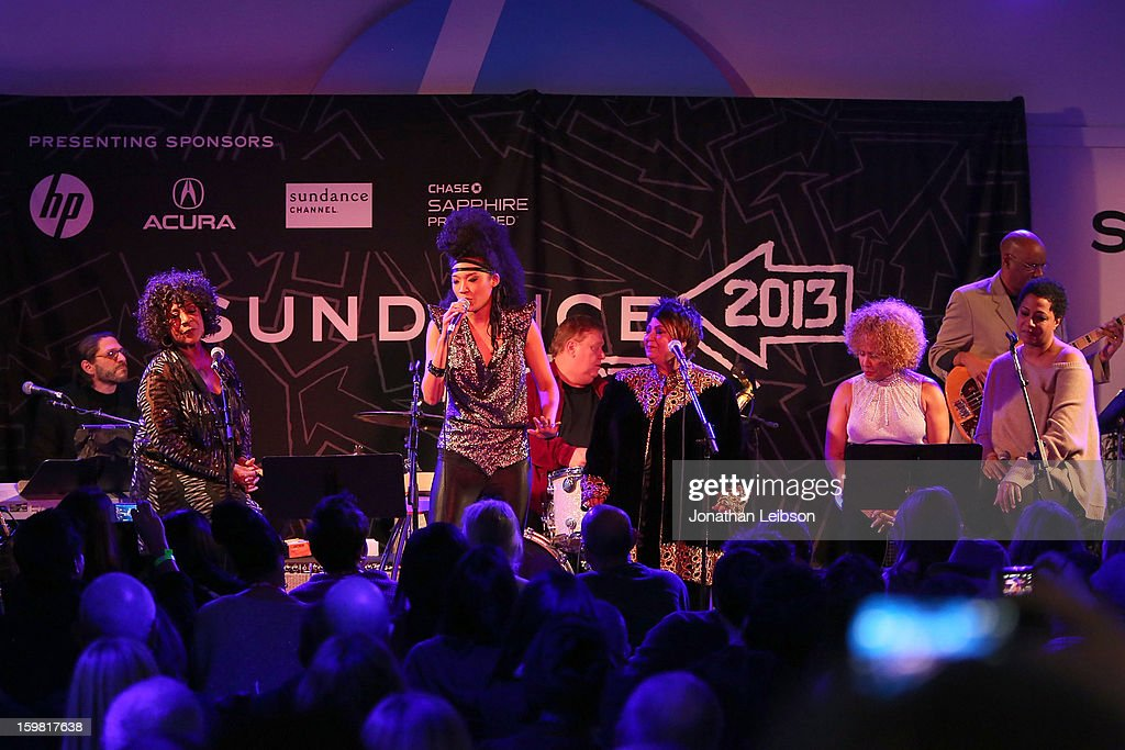 Singers from the film Twenty Feet From Stardom perform at the A Celebration Of Music And Film - 2013 Sundance Film Festival at Sundance House on January 20, 2013 in Park City, Utah.