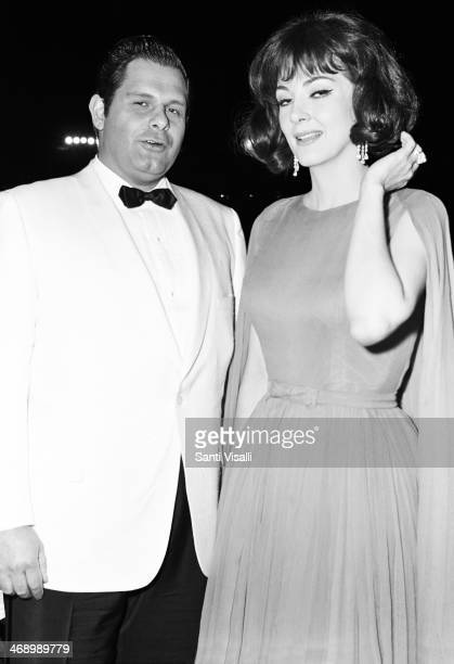 Singers Gianni Raimondi and Anna Moffo on October 10 1966 in New York New York