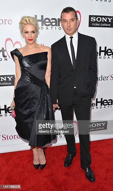 Singers Gwen Stefani and Gavin Rossdale arrive to The Heart Foundation Gala at Hollywood Palladium on May 10 2012 in Hollywood California