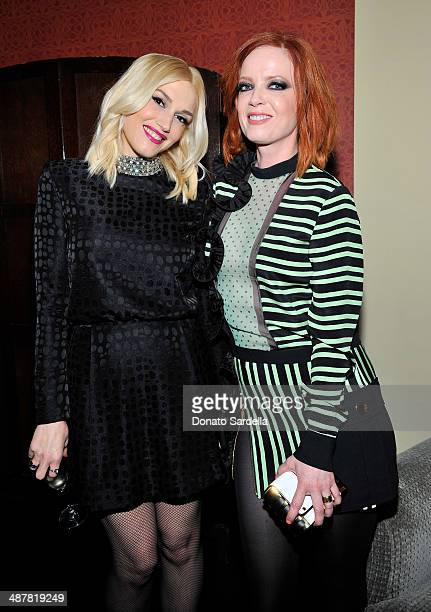 Singers Gwen Stefani and Shirley Manson attend A private dinner In honor of Fausto Puglisi of Emanuel Ungaro hosted by Barneys New York at Chateau...