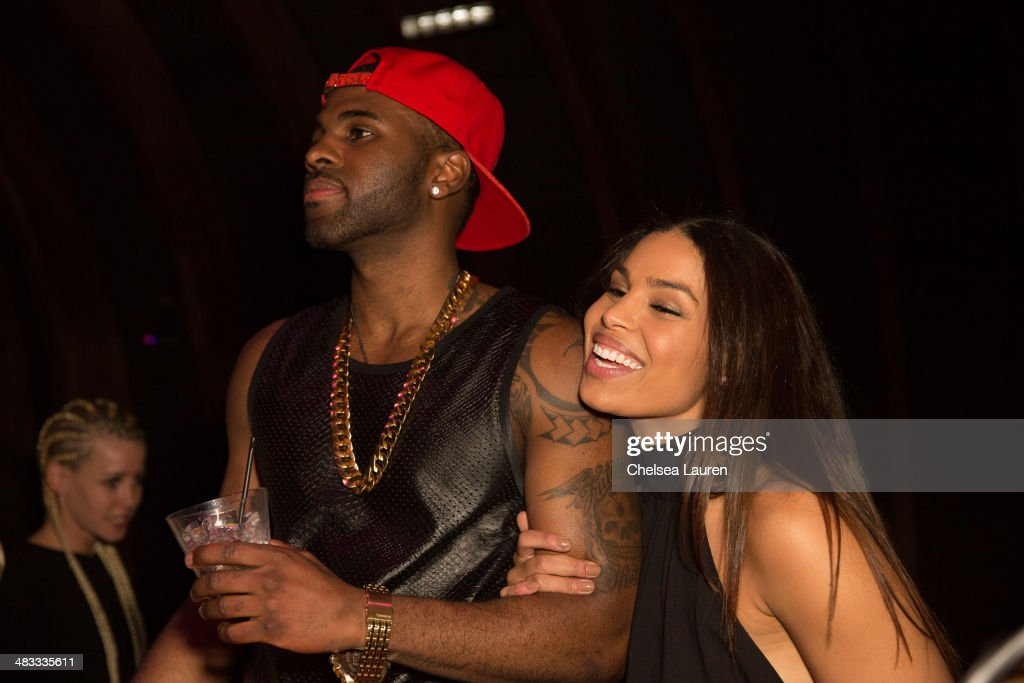 Singers <a gi-track='captionPersonalityLinkClicked' href=/galleries/search?phrase=Jason+Derulo&family=editorial&specificpeople=5745869 ng-click='$event.stopPropagation()'>Jason Derulo</a> (L) and <a gi-track='captionPersonalityLinkClicked' href=/galleries/search?phrase=Jordin+Sparks&family=editorial&specificpeople=4165535 ng-click='$event.stopPropagation()'>Jordin Sparks</a> attend the listening party for <a gi-track='captionPersonalityLinkClicked' href=/galleries/search?phrase=Jason+Derulo&family=editorial&specificpeople=5745869 ng-click='$event.stopPropagation()'>Jason Derulo</a>'s new album 'Talk Dirty' at 1OAK on April 7, 2014 in West Hollywood, California.