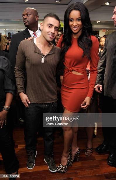 Singers Jay Sean and Ciara attend the 'Ultimate FaceLift' with superstar Ciara to benefit The VH1 Save The Music Foundation at Lord Taylor on October...