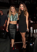 Singers Jessica Sanchez and Pia Toscano attend Crustacean Beverly Hills Red Hour Live Music Series Finale at Crustacean on June 25 2014 in Beverly...
