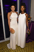 Singers Jordin Sparks and Brandy attend the 2016 PreGRAMMY Gala and Salute to Industry Icons honoring Irving Azoff at The Beverly Hilton Hotel on...