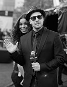 Singers Jordin Sparks and Gavin DeGraw attend the 2014 American Music Awards red carpet arrivals featuring the AllNew Chrysler 300S at Nokia Theatre...