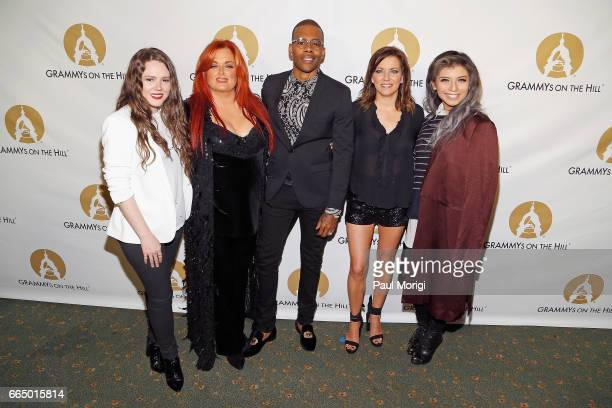 Singers Joy Wynonna Mario Martina McBride and Kirstin Maldonado at The Recording Academy®'s 2017 GRAMMYs on the Hill® Awards on April 5 to honor...