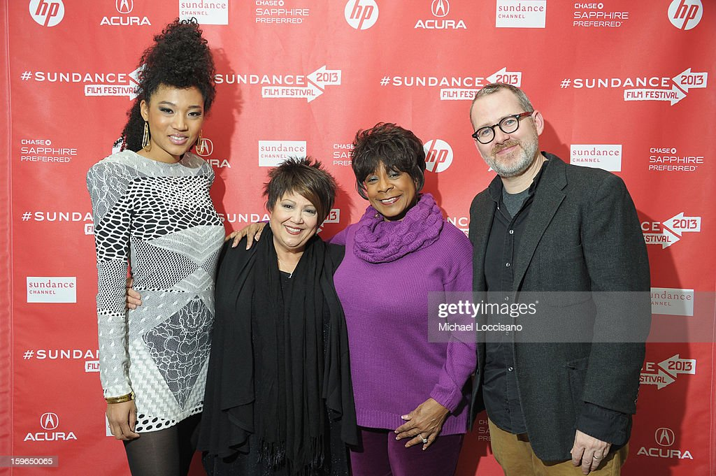 Singers Judith Hill, Tata Vega and Merry Clayton and director Morgan Neville attend the 'Twenty Feet From Stardom' premiere during the 2013 Sundance Film Festival at Eccles Center Theatre on January 17, 2013 in Park City, Utah.
