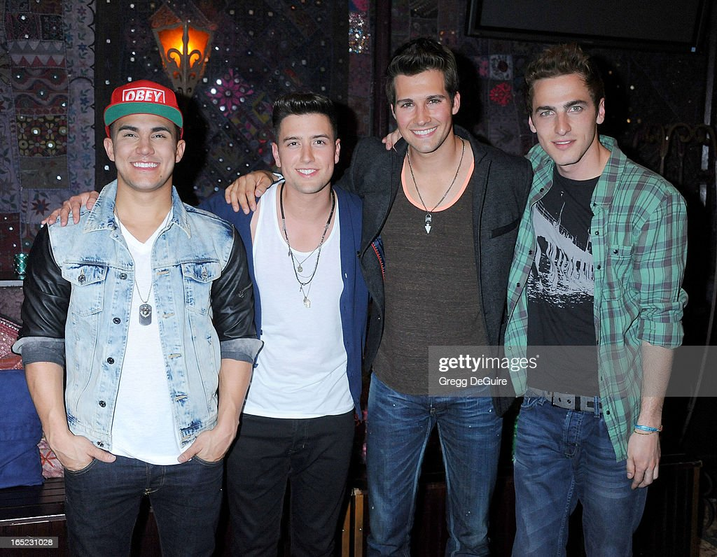Big Time Rush Press Conference And Tour Announcement