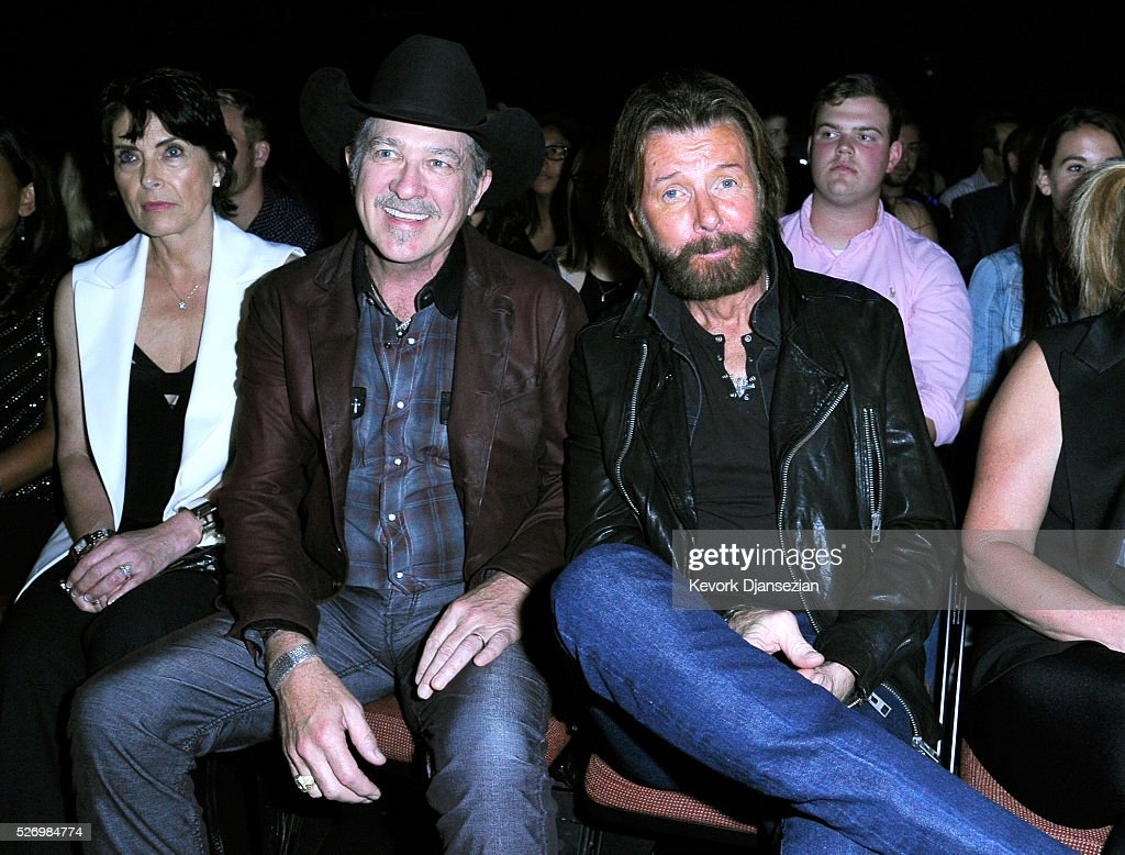 Singers Kix Brooks (L) and Ronnie Dunn attend the 2016 American Country Countdown Awards at The Forum on May 1, 2016 in Inglewood, California.