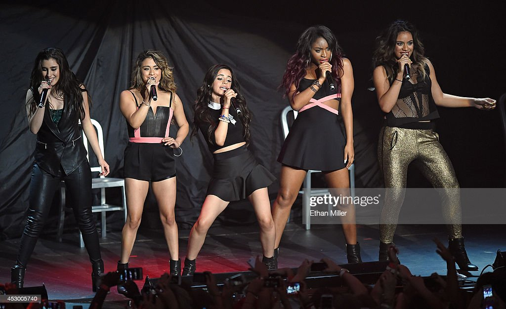Austin mahone the vamps fifth harmony and shawn mendes perform at the hard rock joint getty - Maison de prestige austin jauregui ...