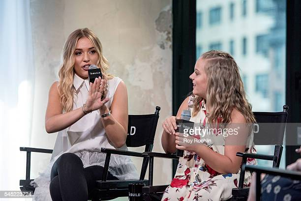 Singers Lennon Stella and Maisy Stella of Lennon Maisy discuss 'Nashville' with AOL Build at AOL Studios In New York on July 6 2016 in New York City