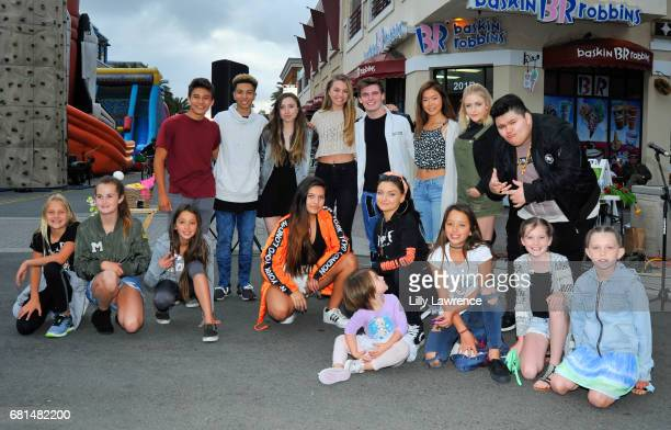 singers Matt and Ashlynn Olivia Ooms Grayson Hunter Goss guest Mahkenna Jovan Armand Lauren Kristine and Laci Kay posed with fans at Mother's Day...