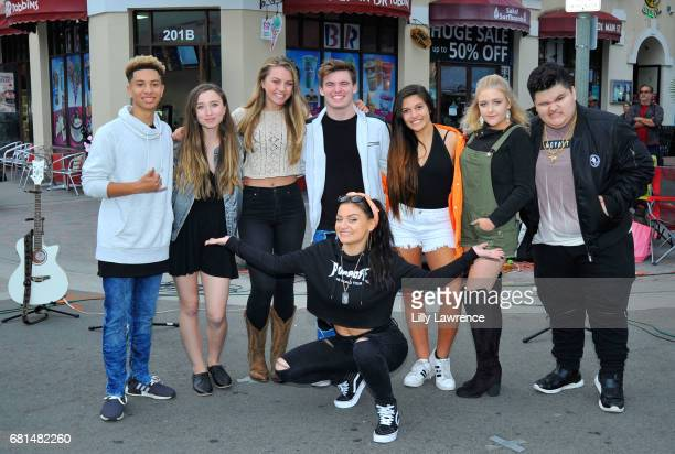 Singers Matt and Ashlynn Olivia Ooms Grayson Hunter Goss Lauren Kristine Mahkenna Jovan Armand and Laci Kay attend Mother's Day Night Out Concert at...