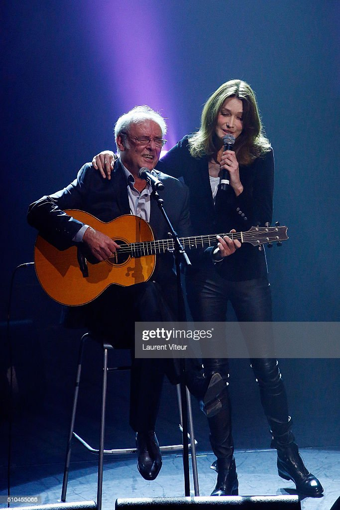 """2 Generations Chantent Pour La 3 eme"" : Charity Gala To benefit Alzheimer Research At L'Olympia In Paris"