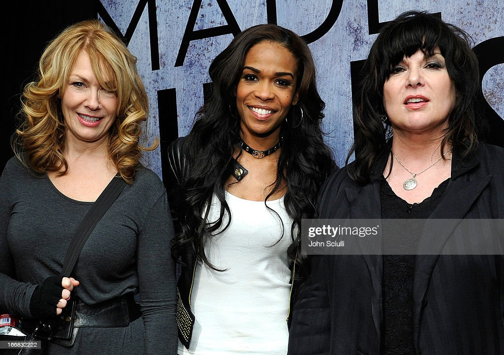 Singers Nancy Wilson, Michelle Williams and Ann Wilson attend the Gift Lounge at the 28th Rock and Roll Hall of Fame Induction Ceremony presented by I Can't Believe It's Not Butter! 'Breakfast After Dark' produced by On 3 Productions at Nokia Theatre L.A. Live on April 17, 2013 in Los Angeles, California.
