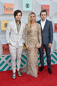 Singers Neil Perry Kimberly Perry and Reid Perry of The Band Perry attend the 51st Academy of Country Music Awards at MGM Grand Garden Arena on April...