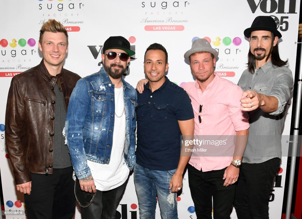 The Backstreet Boys Appearance At Sugar Factory American Brasserie