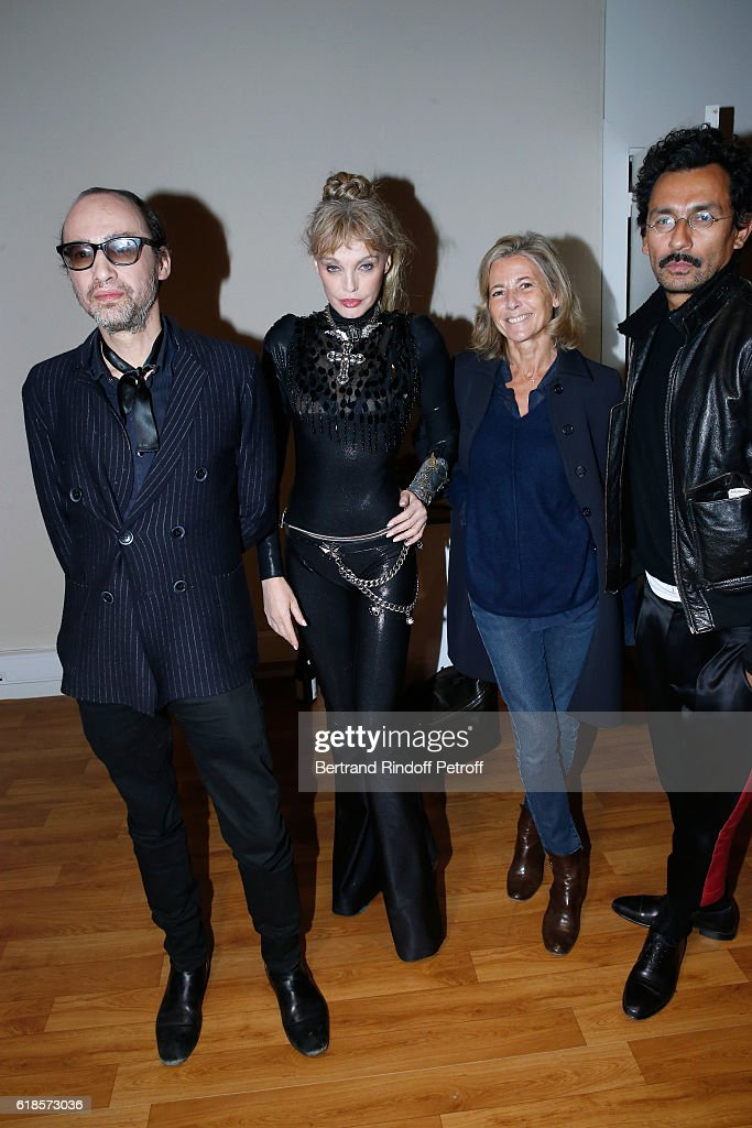 Arielle Dombasle In Concert At Grand Palais In Paris