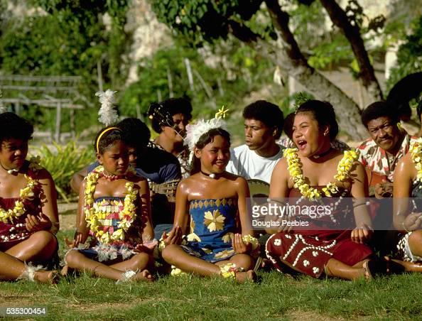 Singers Performing at Tongan Feast