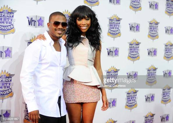 Singers Ray J and Brandy attends 2010 VH1 Hip Hop Honors at Hammerstein Ballroom on June 3 2010 in New York New York