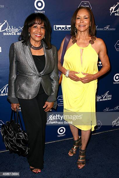 Singers Scherrie Payne and Freda Payne attends the 'Impressions A Magical Night Of Dance' a fundraiser for the Debbie Allen Aance Academy held at The...