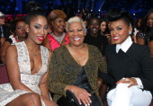 Singers Sevyn Streeter Dionne Warwick and Janelle Monae attend the Soul Train Awards 2013 at the Orleans Arena on November 8 2013 in Las Vegas Nevada